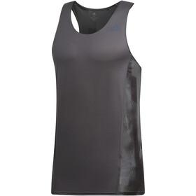 adidas Sub 2 Hardloopshirt zonder mouwen Heren, gresix/black